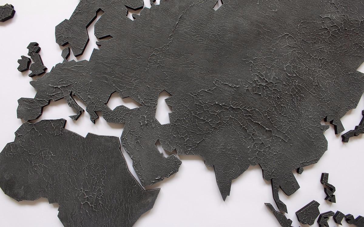 landkarte schwarz weiß